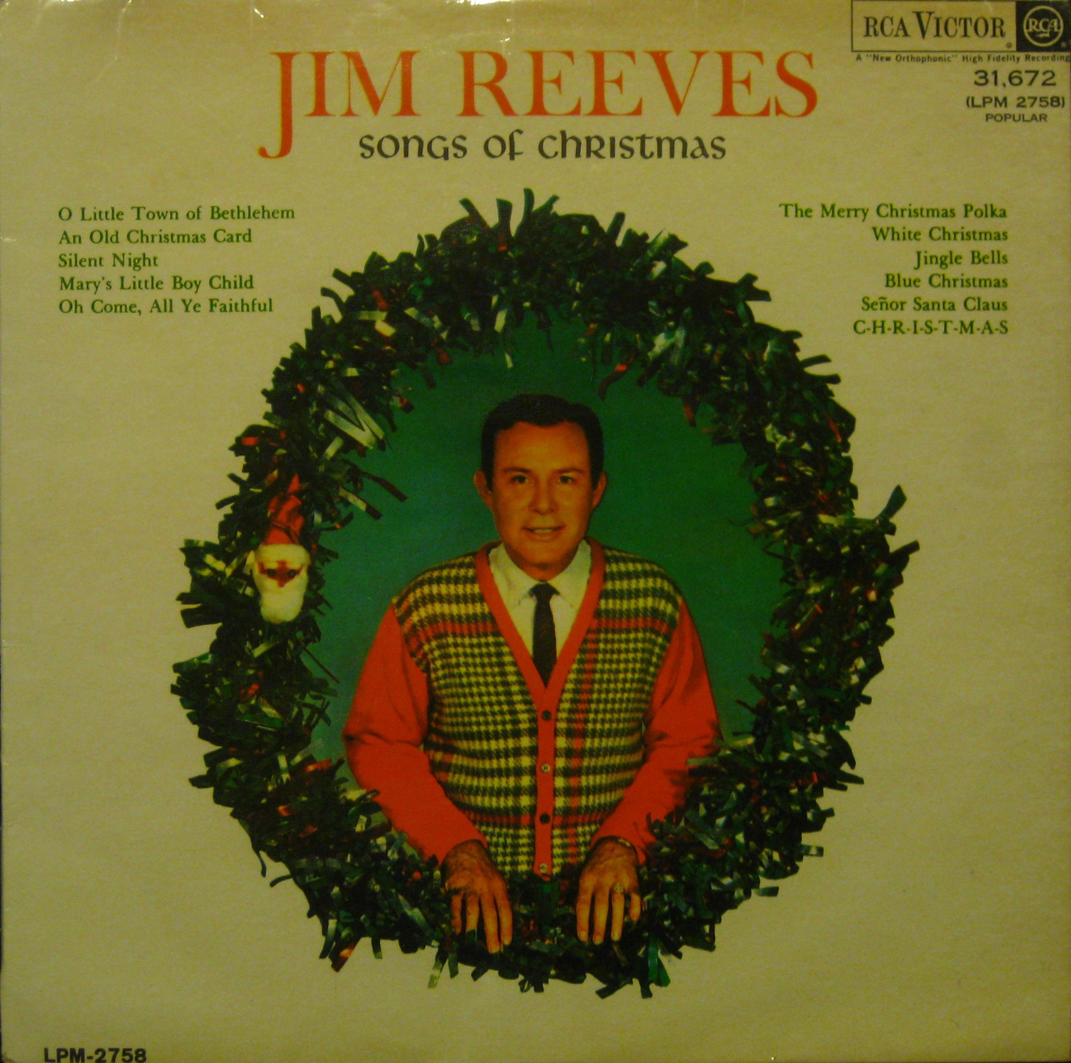 JIM REEVES SOUTH AFRICANCHRISTMAS LP